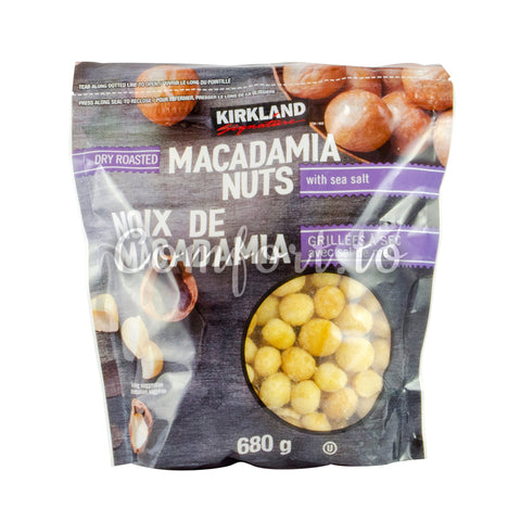 Kirkland Macadamia Nuts with Sea Salt, 680 g