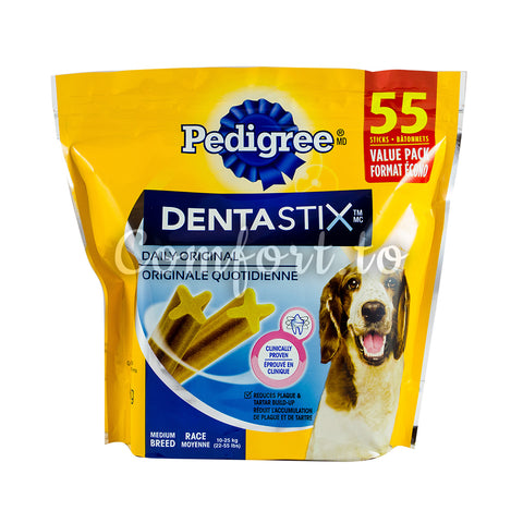 Pedigree DentaStix Original, 55 x 1.3 kg