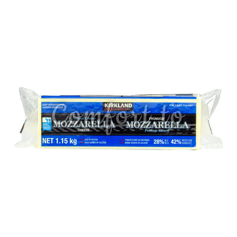 Kirkland Signature Mozzarella Cheese, 1.2 kg