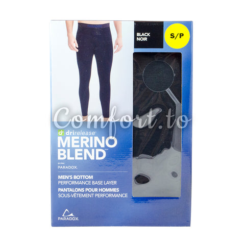 Merino Blend Men's Bottom Base Layer XL, 1 unit