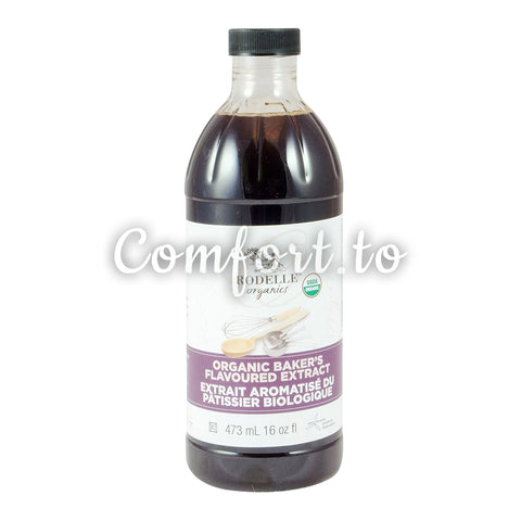 Rodelle Organic Baker's Flavoured Extract, 473 mL