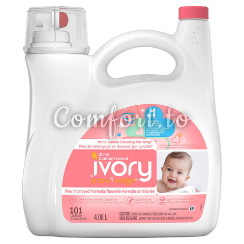 $5 OFF - Ivory Snow Gentle Care Laundry Detergent, 101 loads