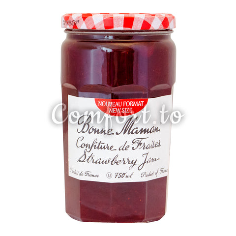 Bonne Maman Strawberry Jam , 750 mL