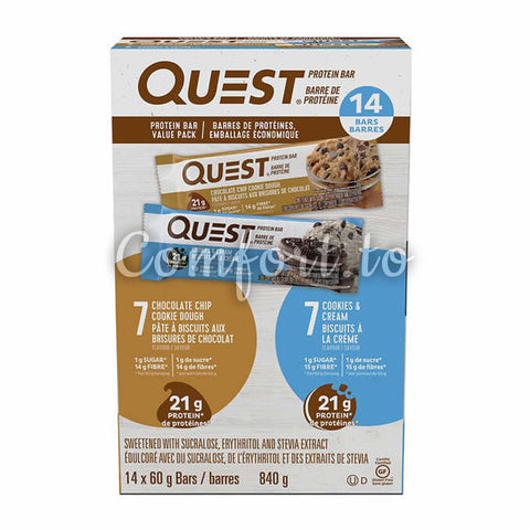 Quest Protein Bars, 14 x 60 g
