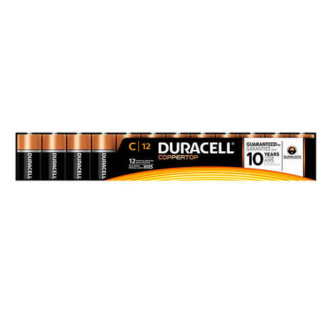$5 OFF - Duracell C Batteries, 12 units