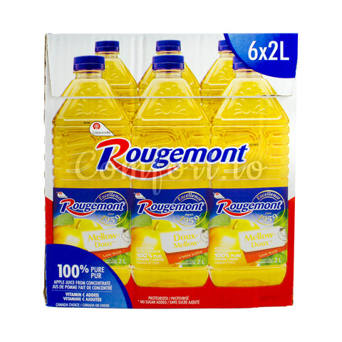 Rougemont Apple Juice, 6 x 2 L