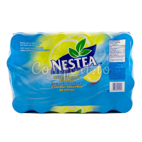 Nestea Iced Tea Natural Lemon, 24 x 341 mL