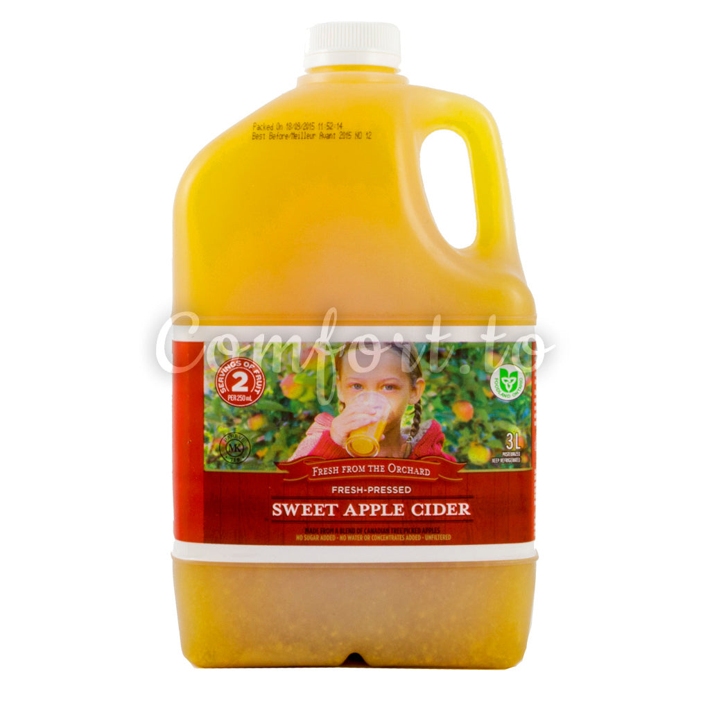 Fresh from the Orchard Sweet Apple Cider - 3.0L