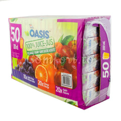 Oasis Juice Variety Pack, 50 x 200 mL