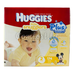 Huggies Little Snugglers 2 Diapers, 174 diapers