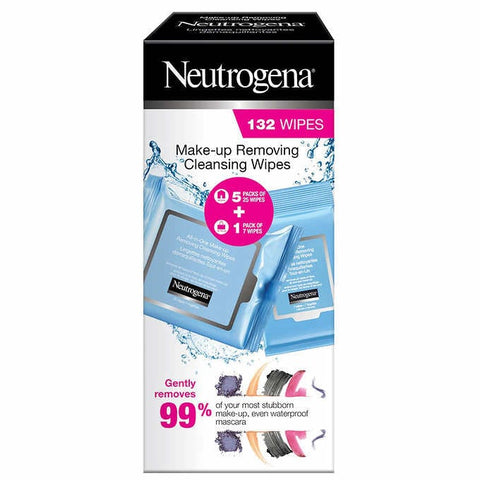 Neotrogena Facial Cleansing Wipes, 6 x 22 wipes