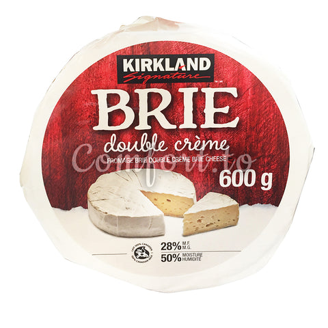Kirkland Double Cream Brie Cheese, 600 g