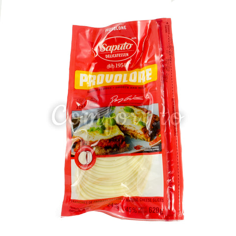 Saputo Sliced Provolone Cheese, 500 g