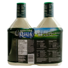 Hidden Valley Ranch Dressing and Dip, 2 x 1.2 L
