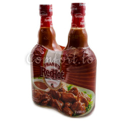 Frank's Redhot Cayenne Pepper Sauce, 2 x 0.7 L