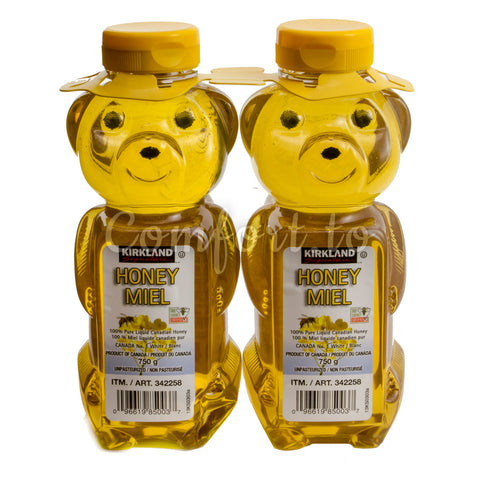 Kirkland Liquid Honey, 3 x 0.8 kg