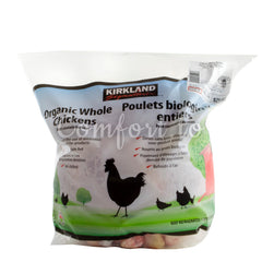 Kirkland Organic Whole Chickens - 3.7kg