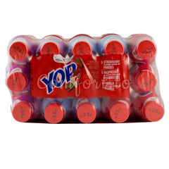 Yoplait Yop Drinkable Yogourt 2%, 15 x 200 mL