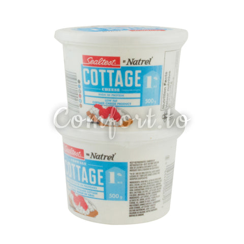 Sealtest Cottage Cheese 1%, 2 x 0.5 kg