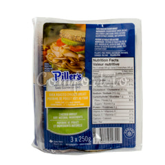 Piller's Sliced Oven Roasted Chicken Breast - 750g