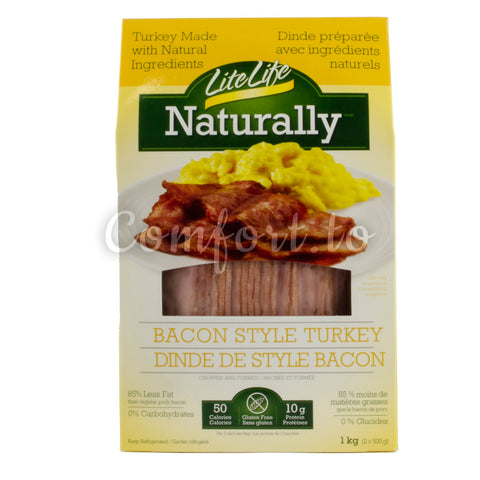 Little Life Naturally Bacon Style Turkey, 1 kg