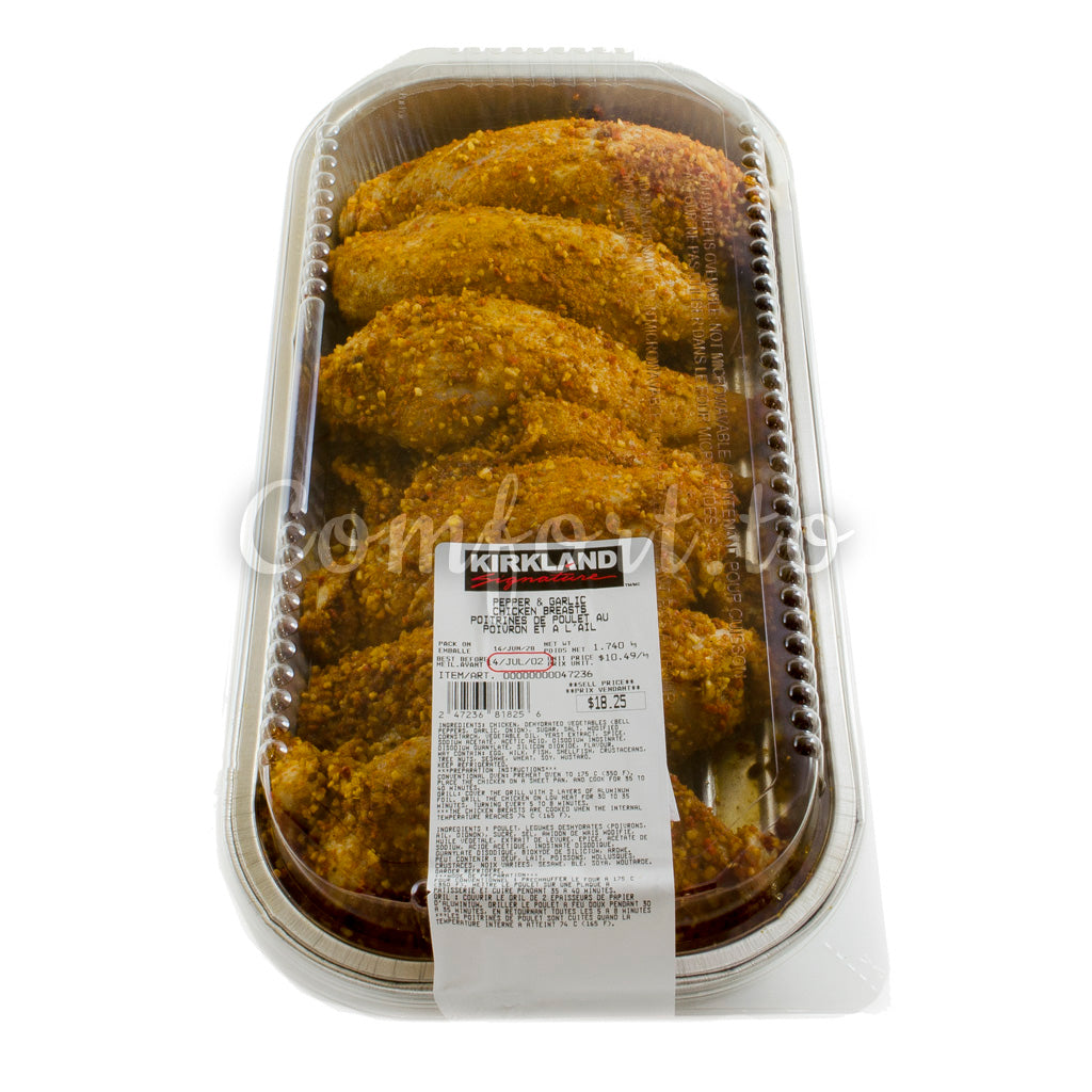 Kirkland Chicken Breast with Pepper & Garlic, 2.6 kg