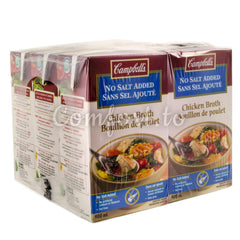 Campbell's Chicken Broth, 6 x 0.9 L