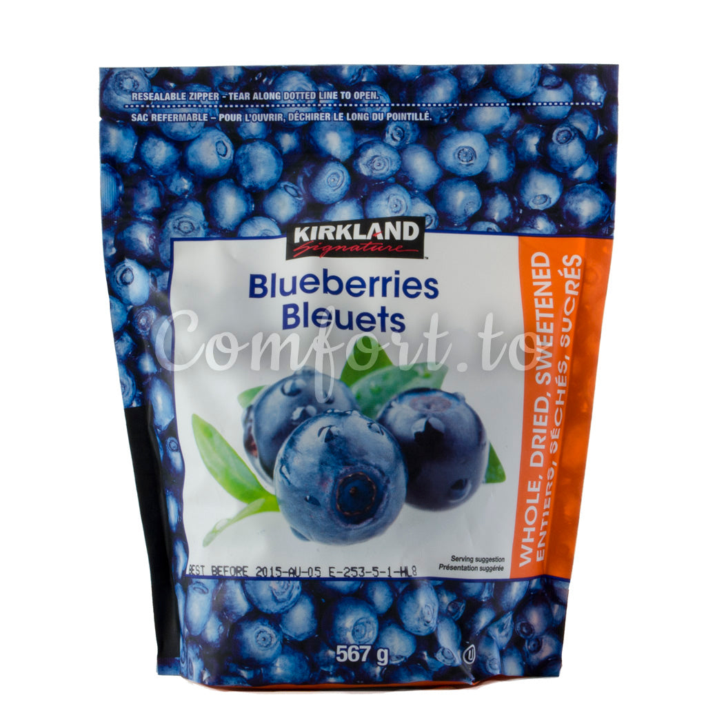 Kirkland Whole Dried Sweetened Blueberries - 567g