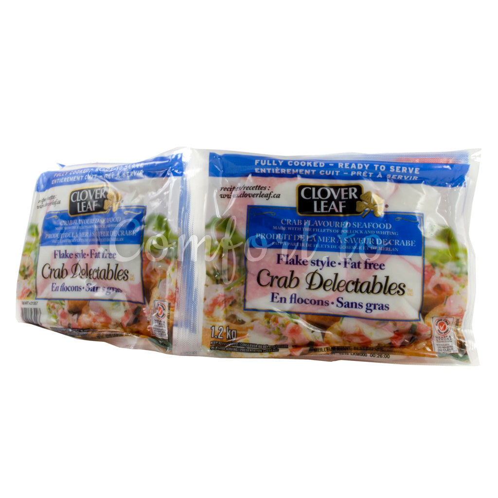 Clover Leaf Flake Style Crab Delectables, 4 x 300 g