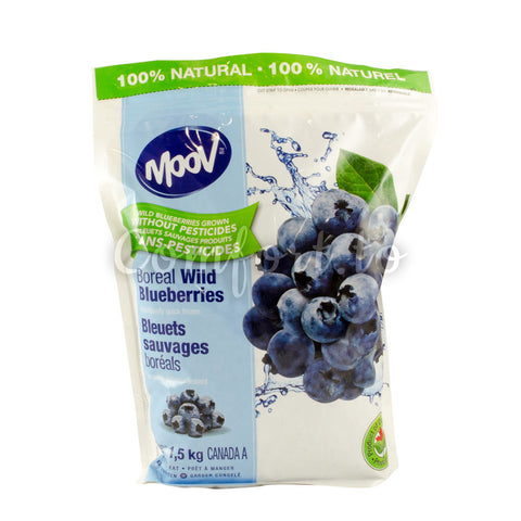 Moov Frozen Boreal Wild Blueberries - 1.5kg