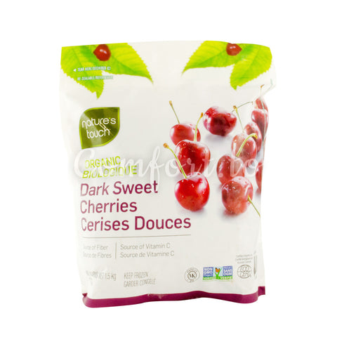 Nature's Touch Frozen Organic Dark Sweet Cherries, 1.5 kg