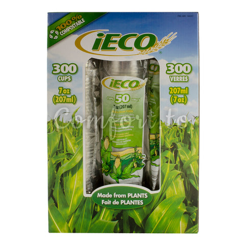 iEco Cups 7oz - 300 cups