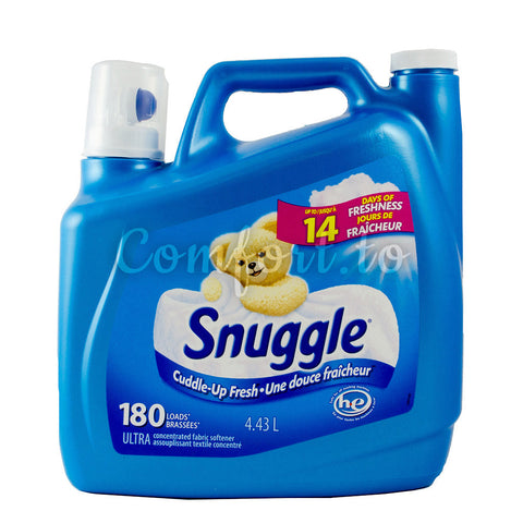 Snuggle Ultra Concentrated Fabric Softener, 187 loads