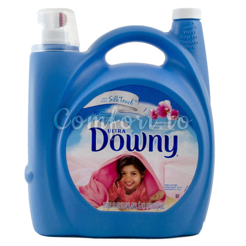 Downy Ultra Fabric Softener with Silk Touch, 197 loads