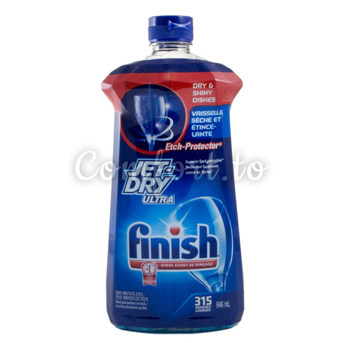 Finish Jet Dry Ultra Rinse Agent, 946 mL