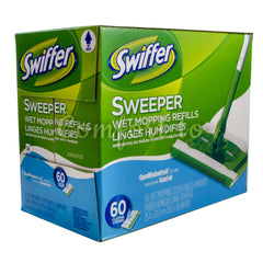 Swiffer Sweeper Wet Mopping Cloths - 60 cloths