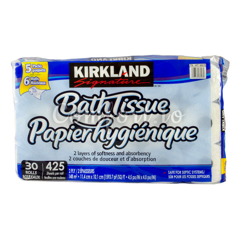 Kirkland Bathroom Tissue, 30 x 425 sheets