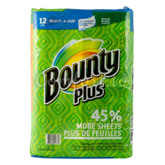 Bounty Paper Towel, 12 x 102 sheets
