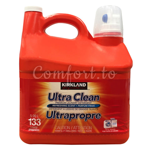 Kirkland Ultra Clean Laundry Detergent, 133 loads