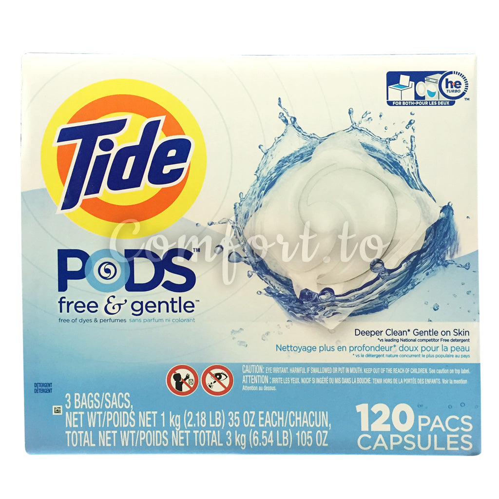 Tide Free & Gentle Laundry Detergent - 120 pods