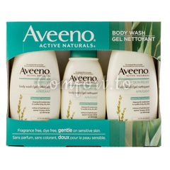 Aveeno Skin Relief Bodywash, 3 x 473 mL