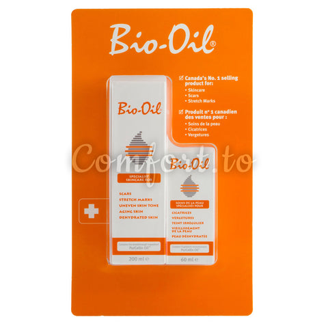 Bio-Oil Skincare for Scars & Stretch Marks, 2 x 130 mL