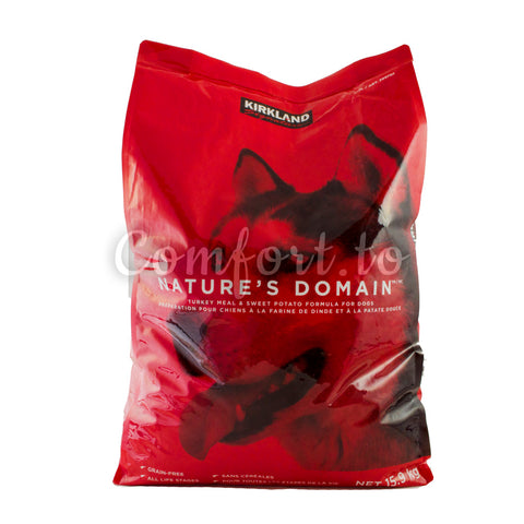 Kirkland Nature's Domain Turkey Meal Dog Food - 15.9kg