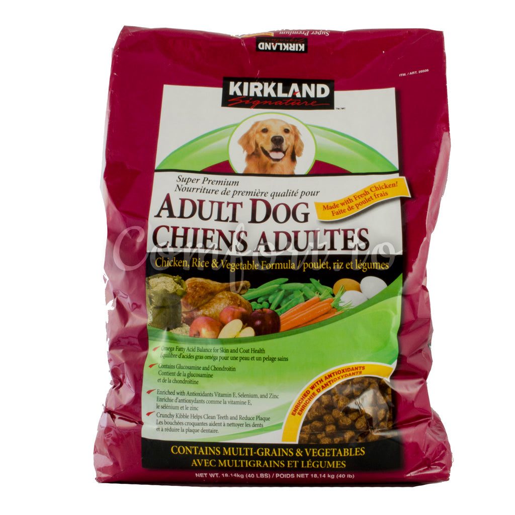 Kirkland Adult Dog Food, Chicken, 18.1 kg