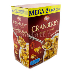 Post Cranberry Almond Crunch Cereal - 1.4kg