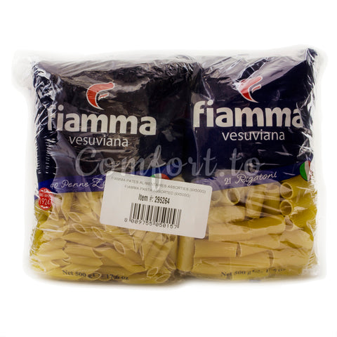 $2 OFF - Fiamma Pasta Assorted, 9 x 0.5 kg