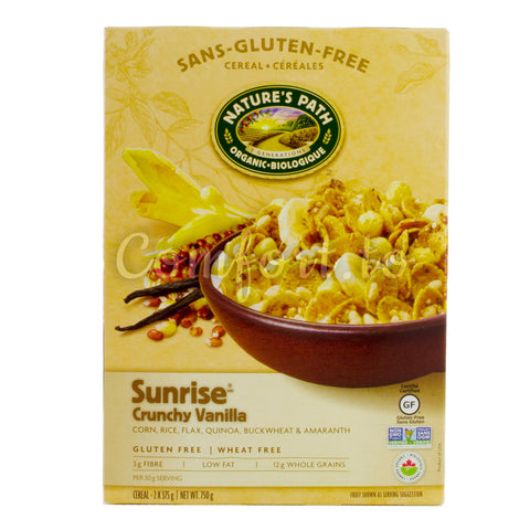 Nature's Path Sunrise Crunchy Vanilla, 2 x 375 g