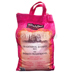 Kirkland Traditional Basmati Rice, 5 kg