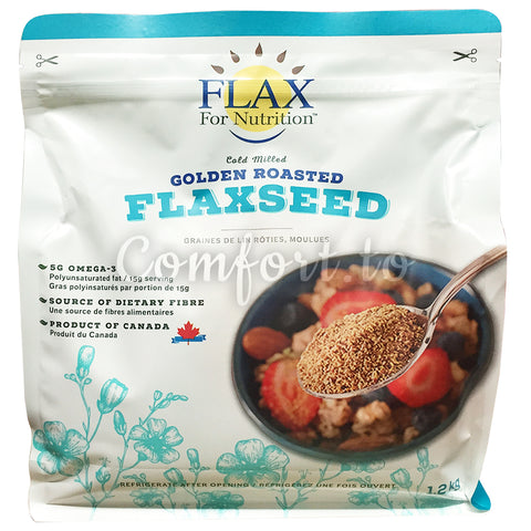Flax for Nutirion Golden Roasted Flaxseed - 1kg