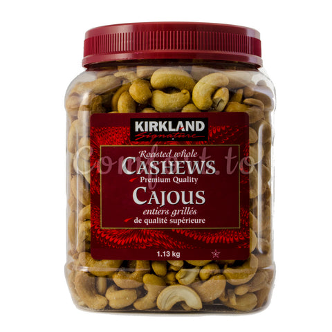Kirkland Roasted Whole Cashews, 1.1 kg